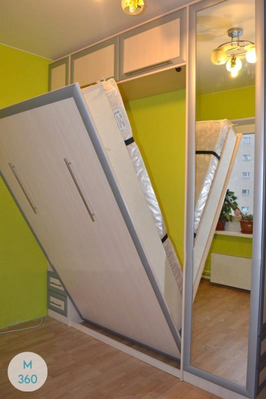 Шкаф кровать Гиацинт Арт 000339260