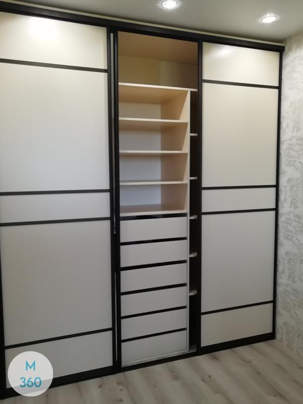 Встроенный шкаф купе Алонзо Арт 000728648
