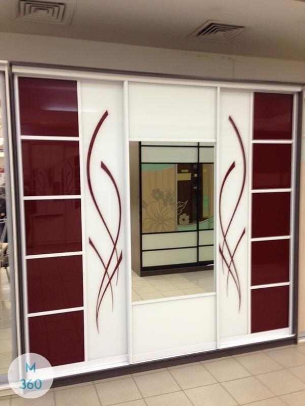 Шкаф-купе стеклянные двери Анталия Арт 001186426