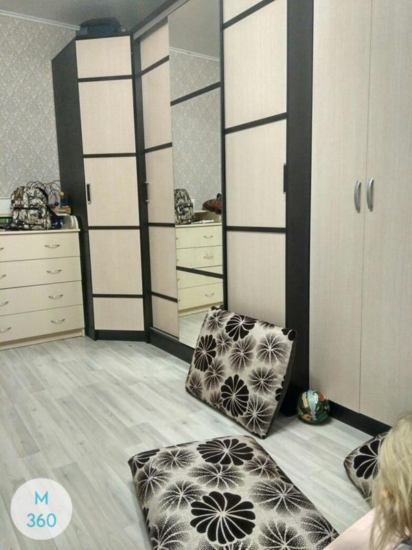 Распашной шкаф с зеркалом Стив Арт 002329195