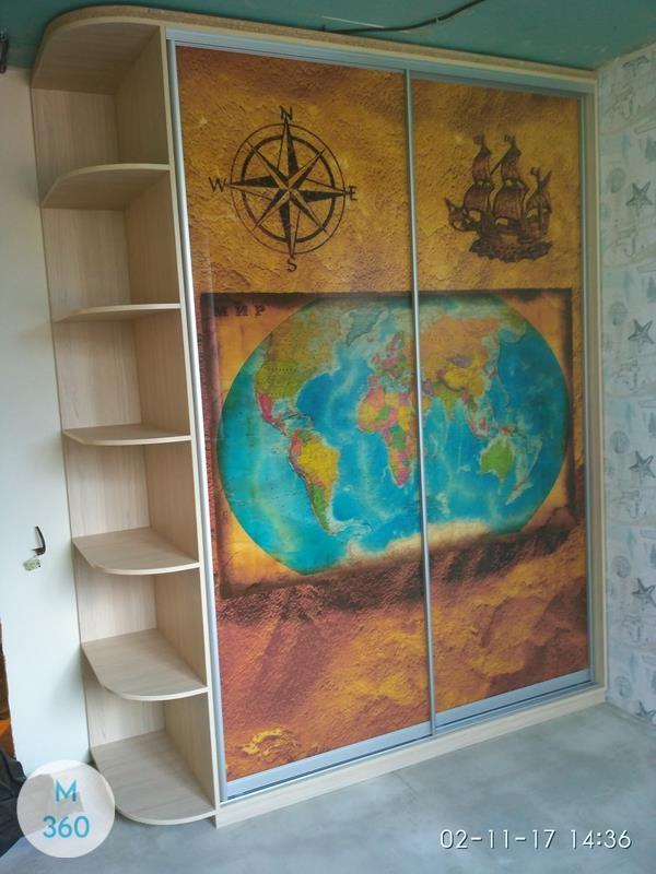 Шкаф с фотопечатью Люксор Арт 002621027