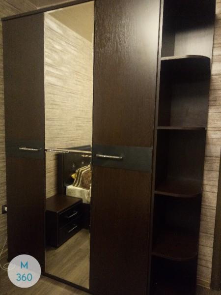 Распашной шкаф с зеркалом Ромилда Арт 004073704