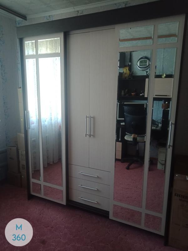 Распашной шкаф с зеркалом Нджамена Арт 005490975