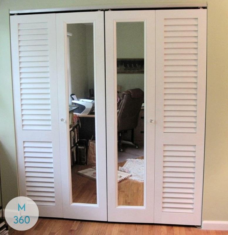 Шкаф с жалюзийными дверцами Конакри Арт 006350538