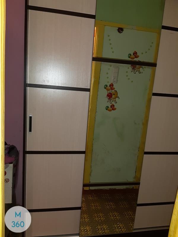 Шкаф купе в прихожую с зеркалом Мозырь Арт 006605793