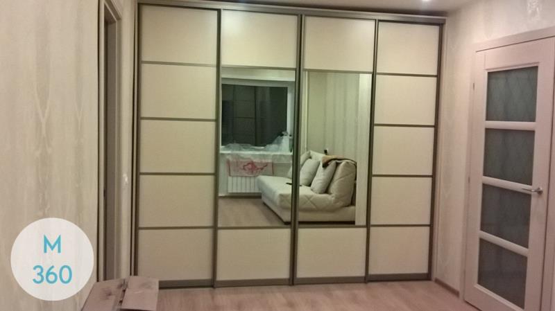 Зеркальные двери для гардеробной Индиана Арт 006727000