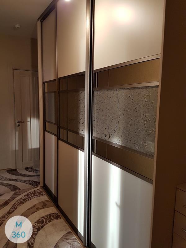 Шкаф-купе стеклянные двери Бриджтаун Арт 007417180