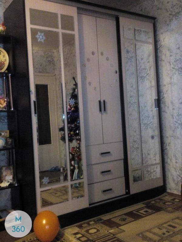 Распашной шкаф с зеркалом Мюлуз Арт 008107259