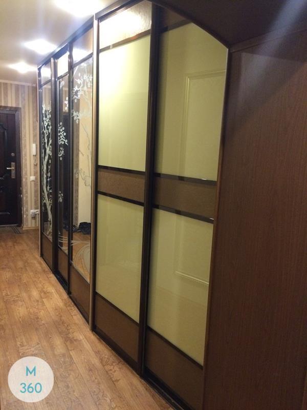 Шкаф-купе стеклянные двери Энн-Арбор Арт 008249621