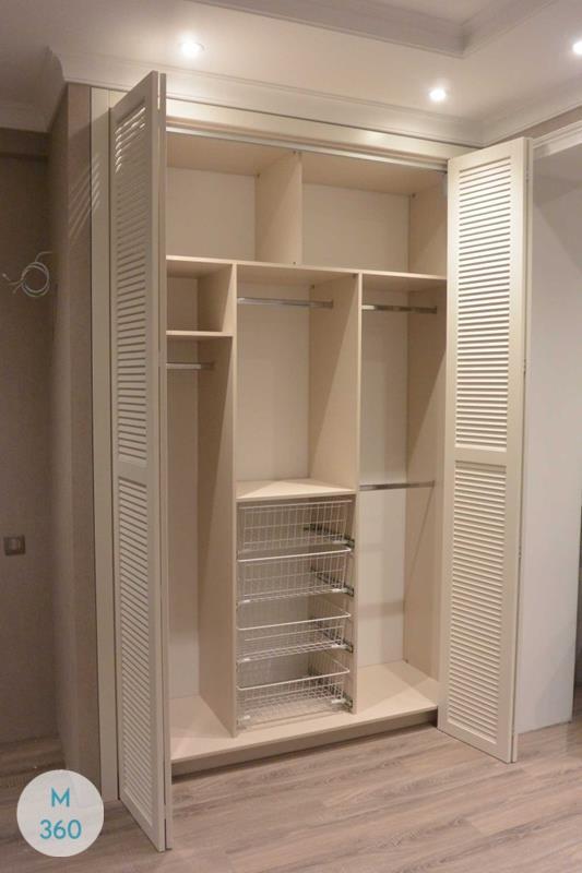 Шкаф с жалюзийными дверцами Малабо Арт 008827439