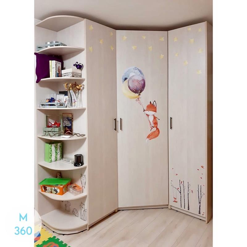 Радиусный шкаф Уэст-Валли-Сити Арт 008970336