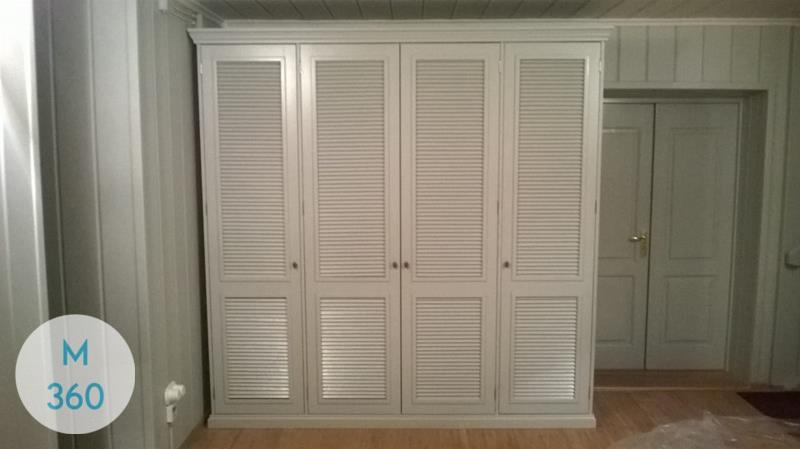 Шкаф с жалюзийными дверцами Кюри Арт 009022538